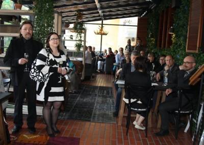 Arctic Light Hotellin Lasiravintolassa oli tiivis tunnelma, kun Likiliikkeen lanseerausiltaan oli ilmoittautunut yli 50 yrittäjää.