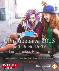 Tubetapahtuma Rovaniemellä 11.5.2018